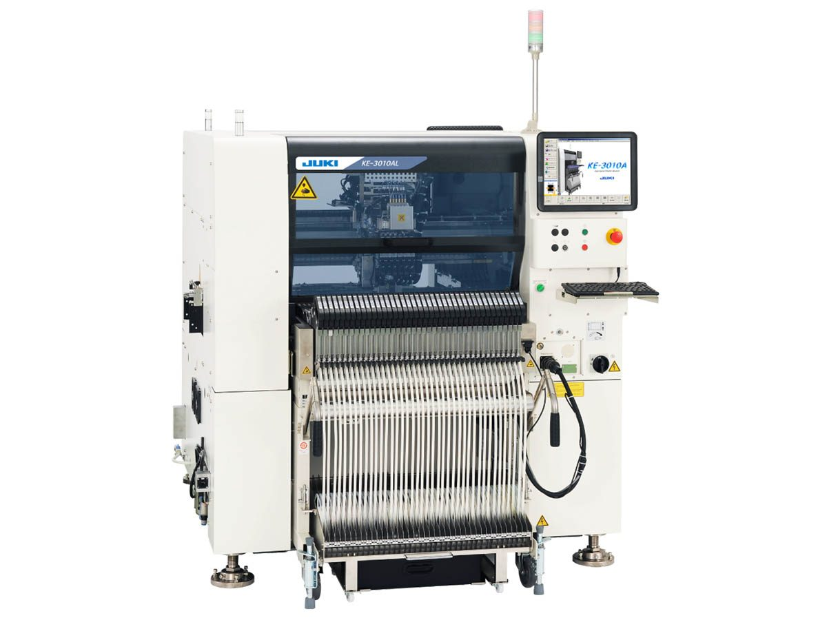 JUKI KE-3010 Speed & Flex Mounter