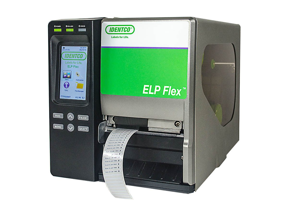 Idenco ELP Flex Printer feature