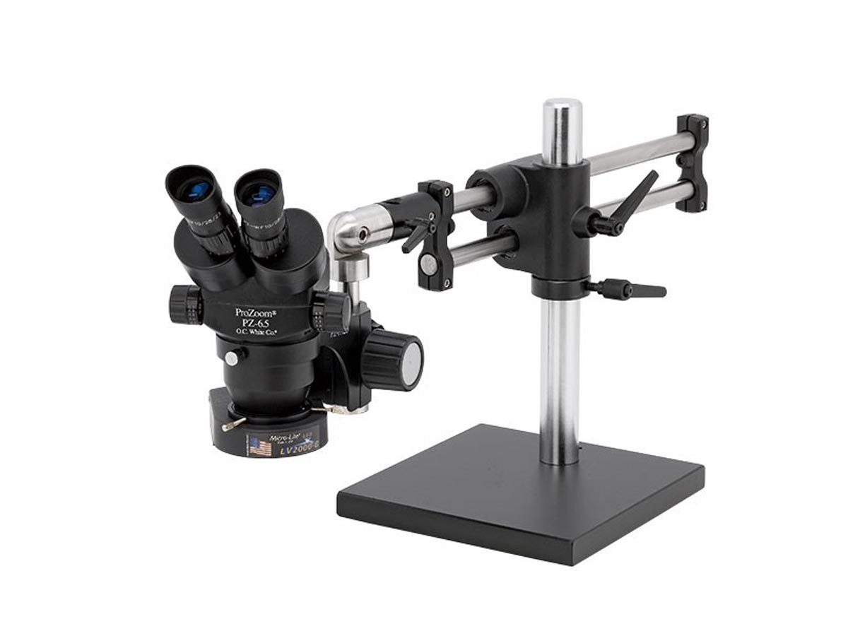 ProZoom 6.5 Binocular Microscope - Ball Bearing Base - ESD Safe 1